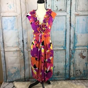 Maggy London floral dress *W44